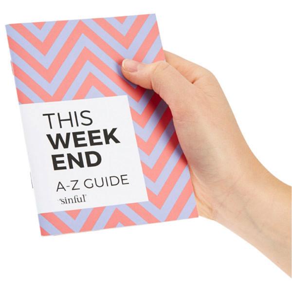 Sinful This Weekend Coffret de sextoys avec guide de A à Z