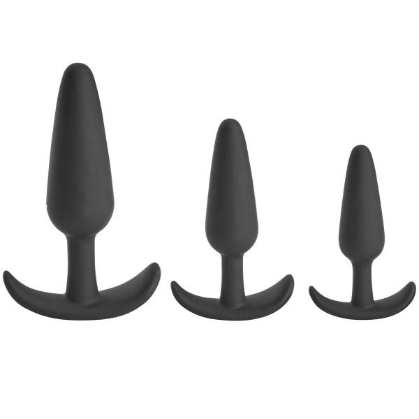 Sinful Sailor Triple Butt Plug Sæt  1