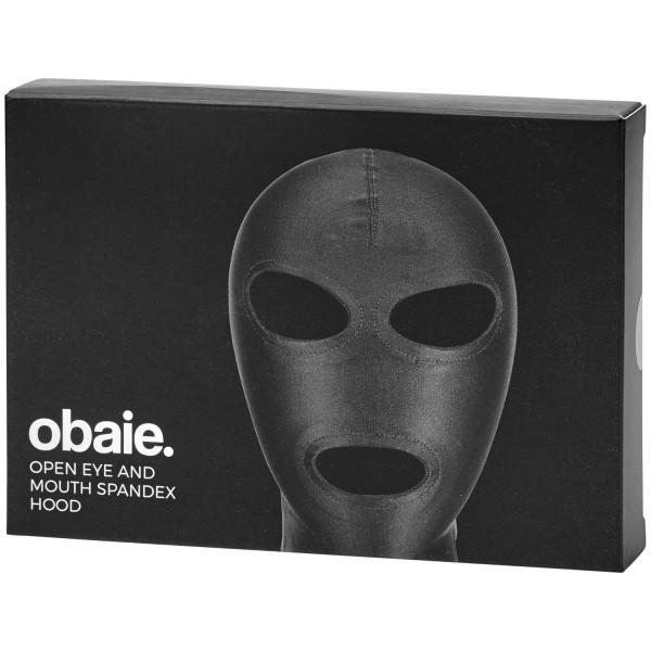 Obaie Spandex Maske med Hul til Øjne og Mund Emballage