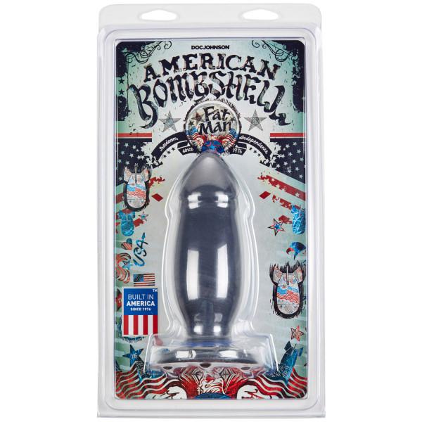 American Bombshell Fat Man Butt Plug 19 cm  3