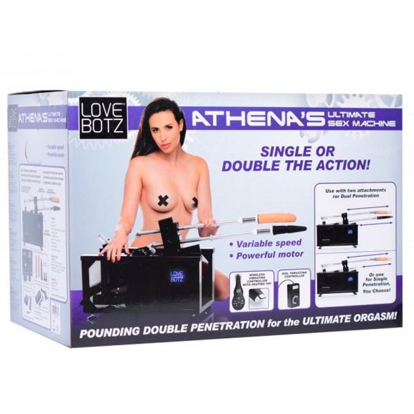 LoveBotz Athenas Double Penetration Sexmaskine