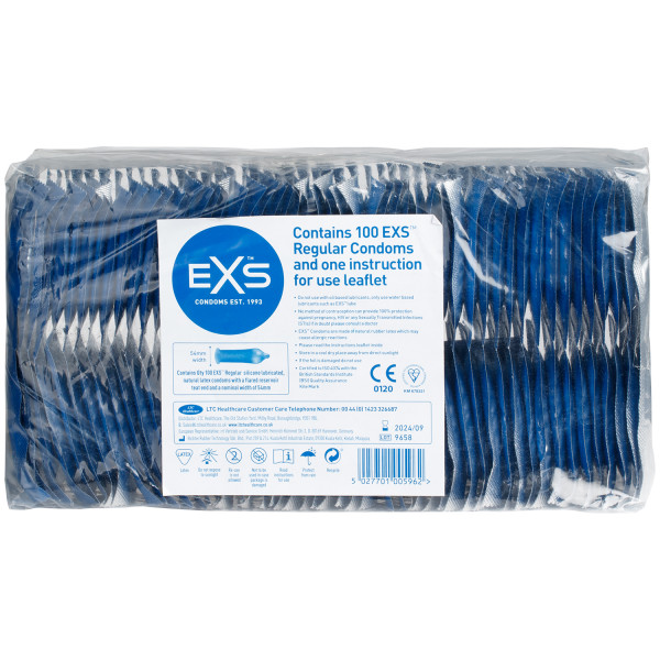 EXS Regular Kondomer 100 stk  1