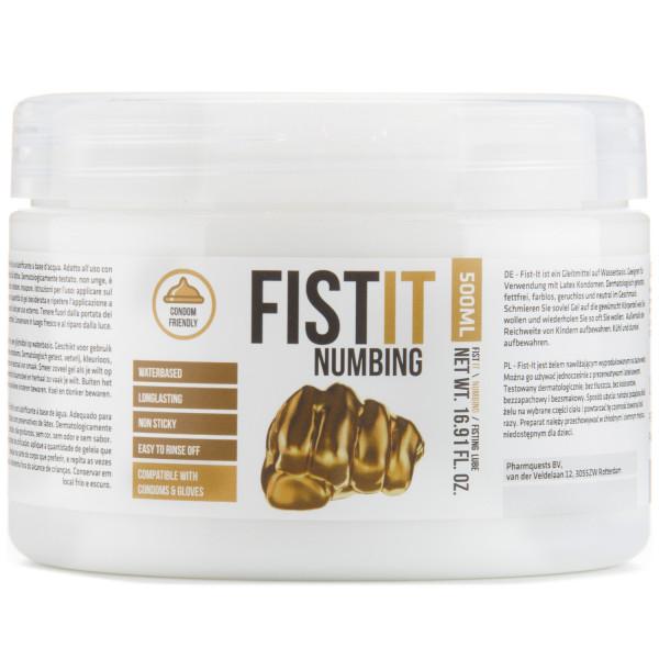 Fist It Numbing Bedøvende Glidecreme 500 ml  1