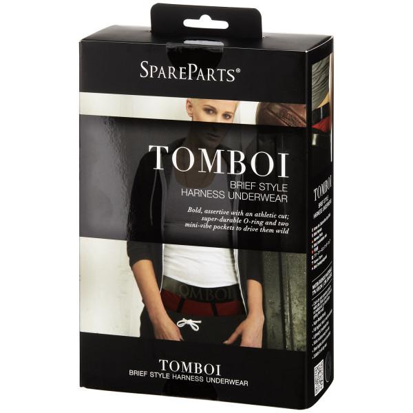 SpareParts HardWear Tomboi Boxer Harness til Kvinder Pack 90