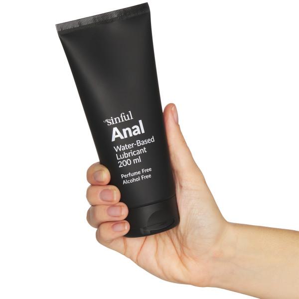 Sinful Anal Glidecreme 200 ml Hand 50
