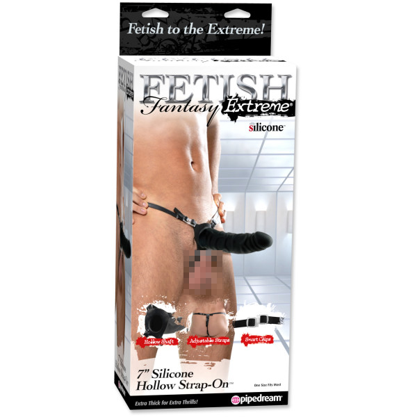 Fetish Fantasy Extreme Hollow Strap-on 18 cm  2