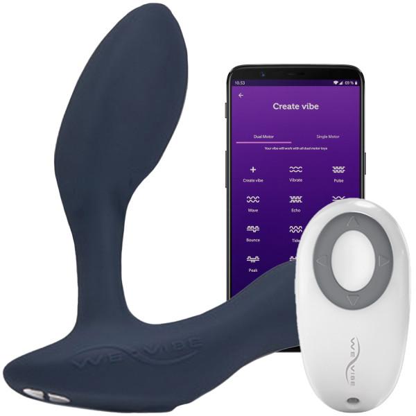 We-Vibe Vector Prostata Massager med Fjernbetjening og App Product app 1
