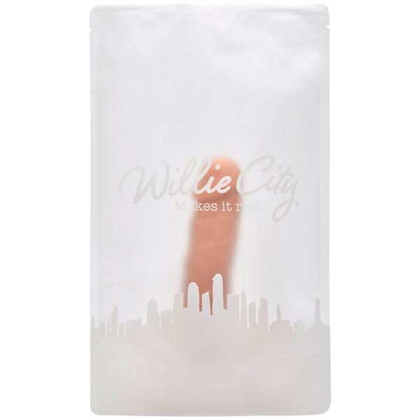Willie City Luxe Lover Super Realistisk Silikone Dildo 20 cm  6
