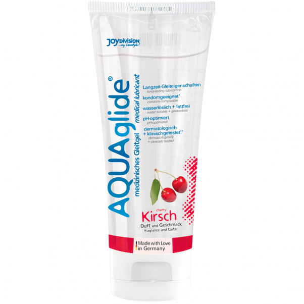 Aquaglide Lubrifiant Aromatisé 100 ml  3