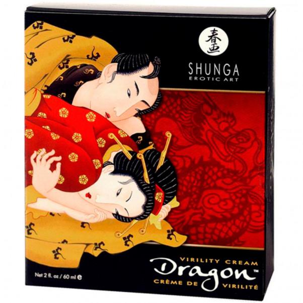 Shunga Dragon Crème Retardatrice Stimulante 60 ml  2