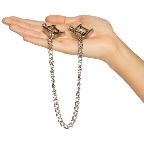 Spartacus Press Brystklemmer med Kæde Hand 50
