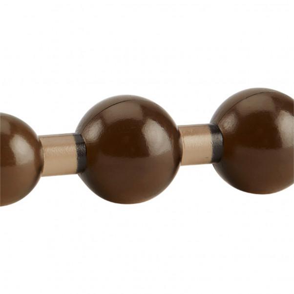 Gode anal avec perles noires