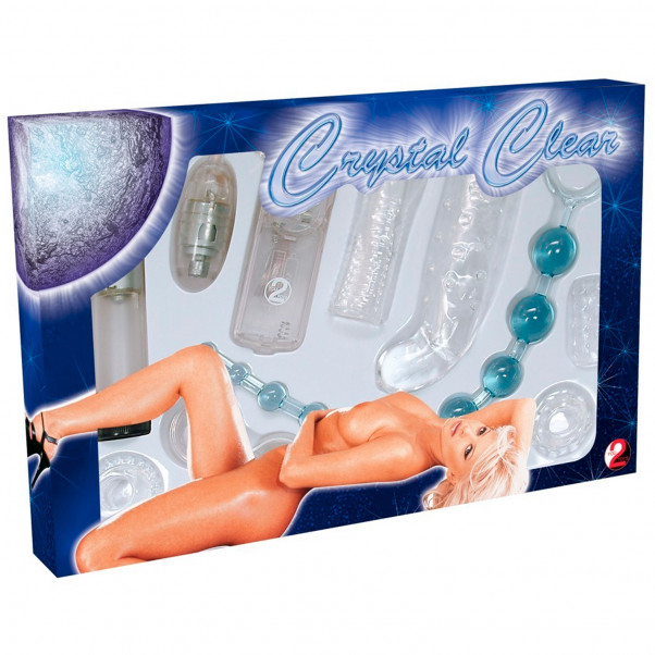Crystal Sex Toy Sæt 8 Dele  11