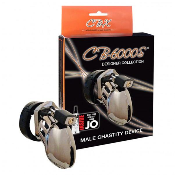 CB-6000S Chrome Kyskhedsbælte (6,35 cm)  2