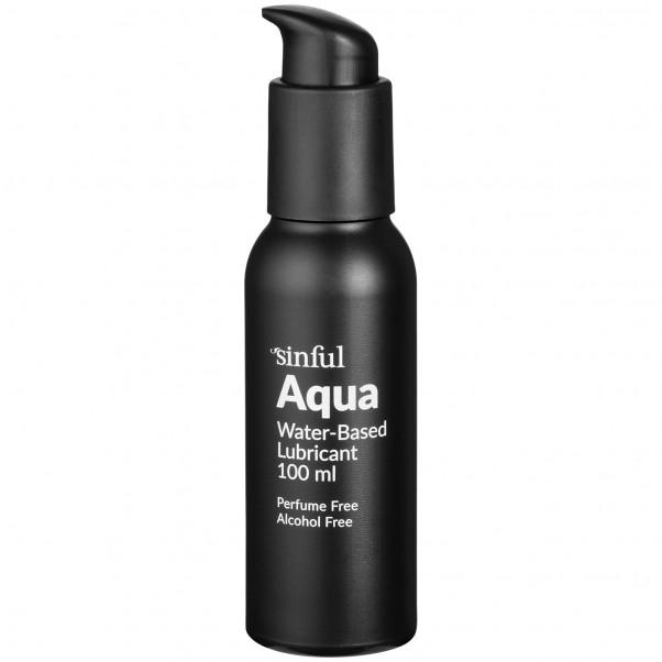 Sinful Aqua Lubrifiant à Base d'Eau 100 ml  1