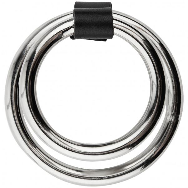 Spartacus Dobbelt Metal Penisring Product 3