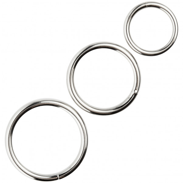Spartacus Metal Penisringe 3 stk Product 1