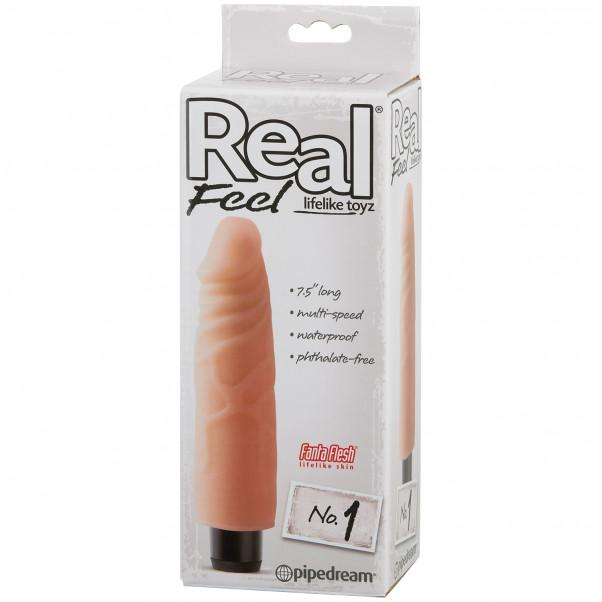 Real Feel Lifelike Toyz No. 1 Dildo Vibrator Pack 90