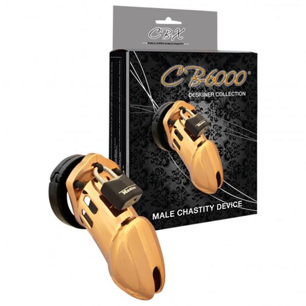 CB-6000 Gold Finish Kyskhedsbælte (8,25 cm)  2