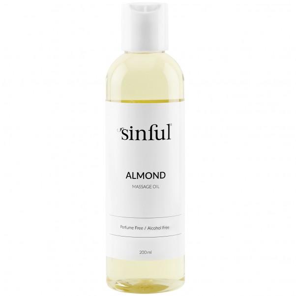 Sinful Huile de Massage à l'Amande 200 ml  1