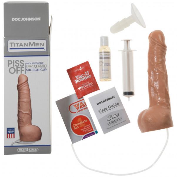 TitanMen Piss Off Vac-U-Lock Sprøjte Dildo  3